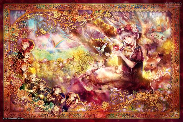 白雪姫物語(白雪姫と虹色の小人)